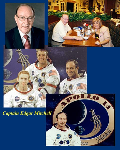 Paola Harris: My interview with Dr. Edgar Mitchell in Roswell, New Mexico 2004